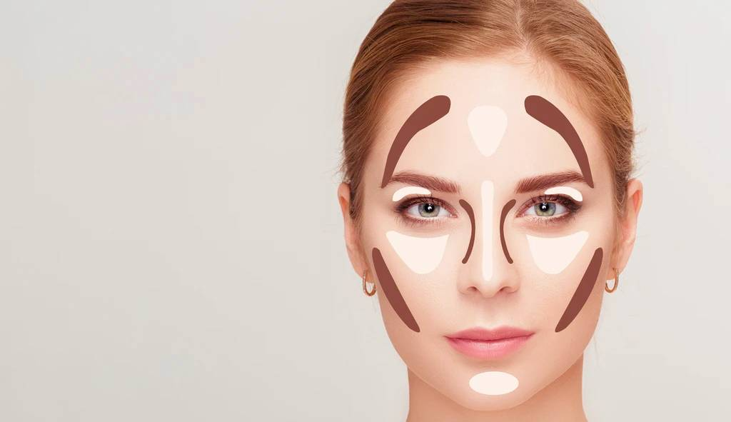 contouring for oval shape
