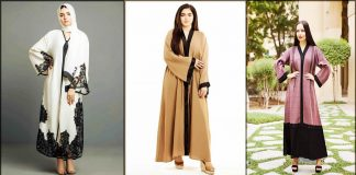 Stylish Front Open Abaya Designs with Hijab Combination - 2021 Fashion