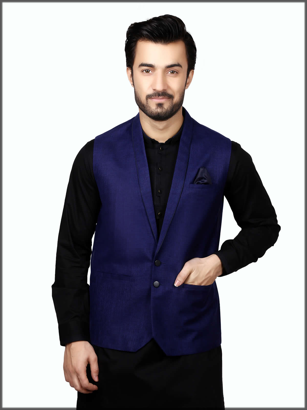 dark blue stylish wear for men