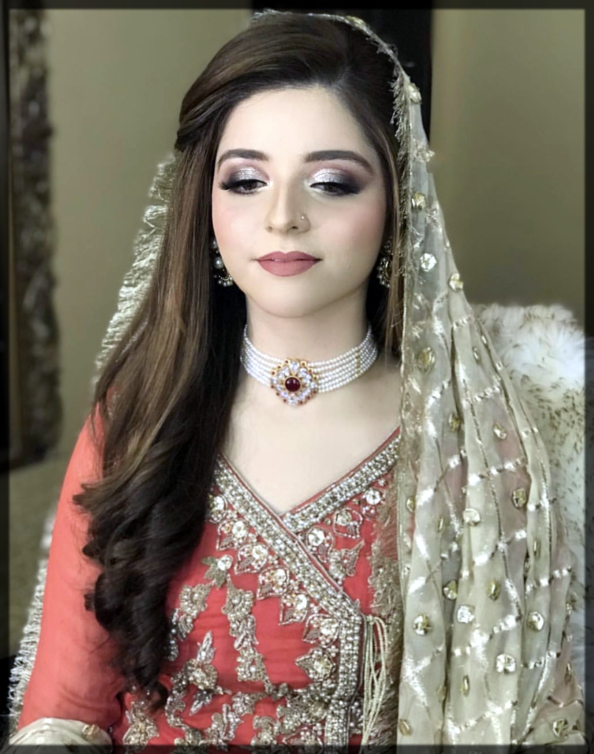 decent pakistani makeup look