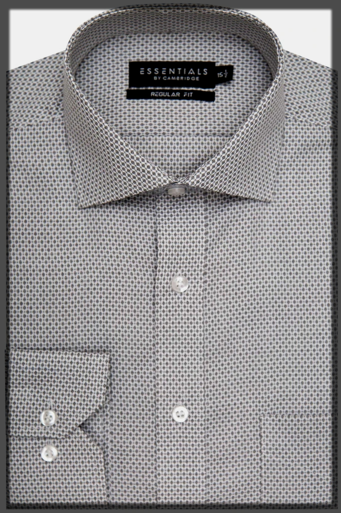 dotted casual shirt for men