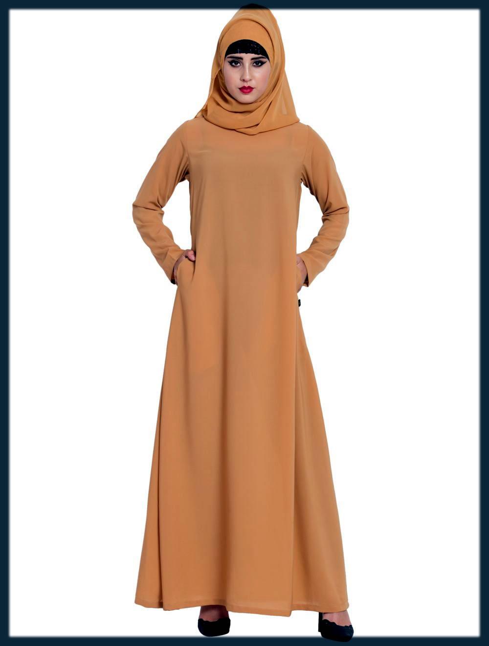 dubai simple style abaya