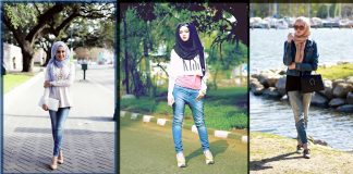 Casual Hijab Styles with Jeans - 20 Stylish Ways to Wear Hijab Casually