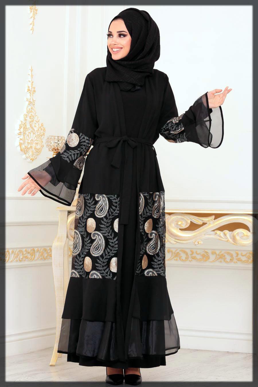 fancy abaya style