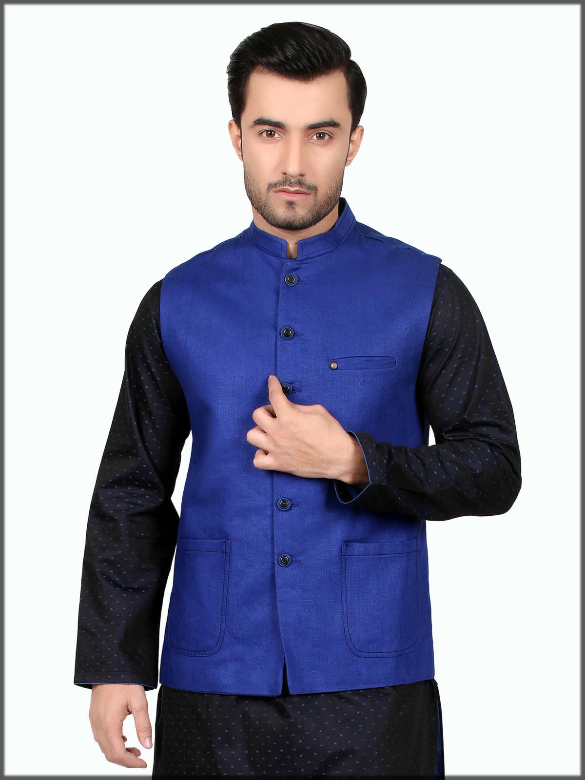 fancy wasitcoat for eid wear