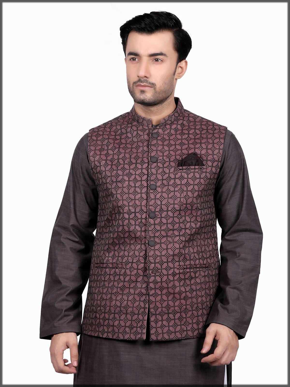 formal waistcoat for men