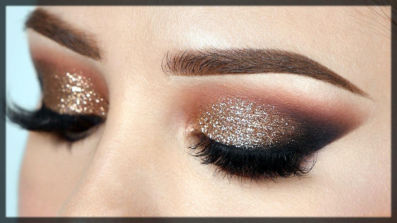 glitter party eyemakeup