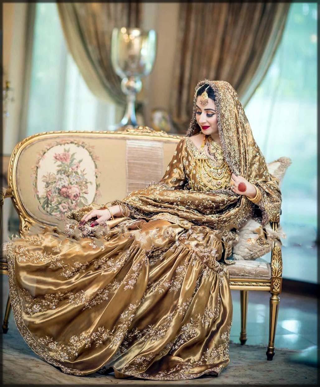 golden gharara for barat
