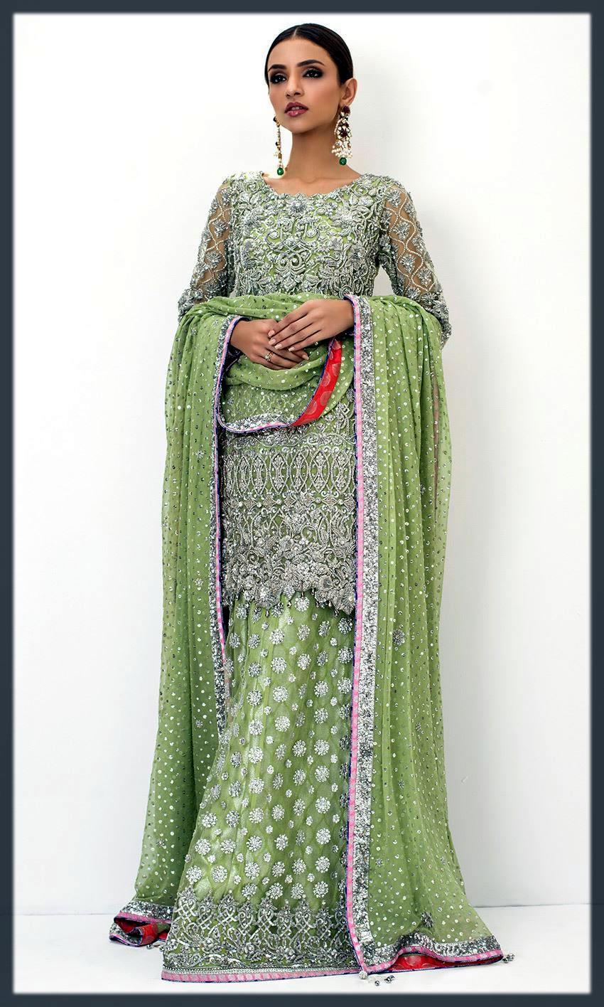 green collection for walima day