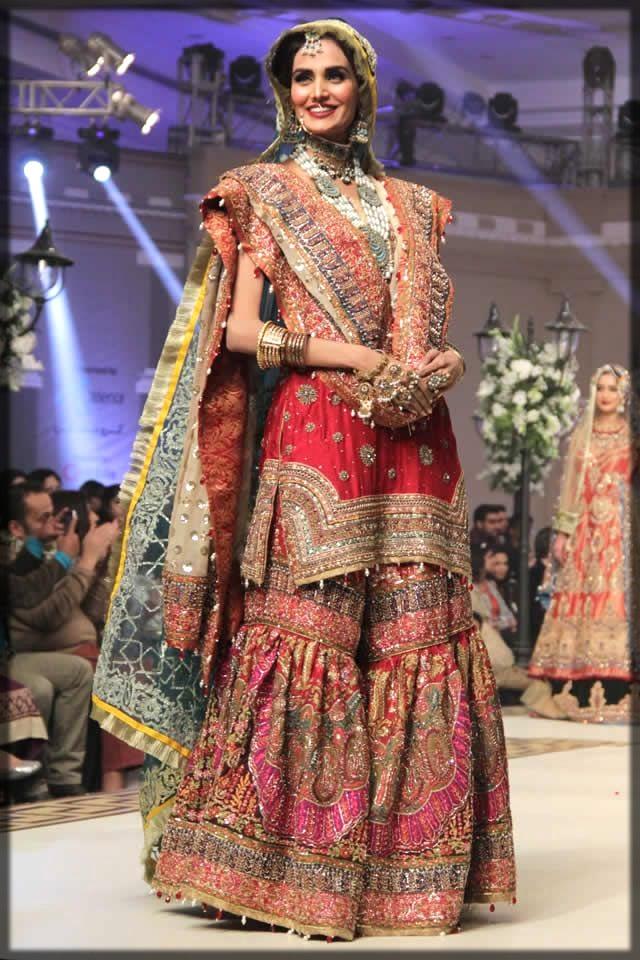 heavy bridal gharara
