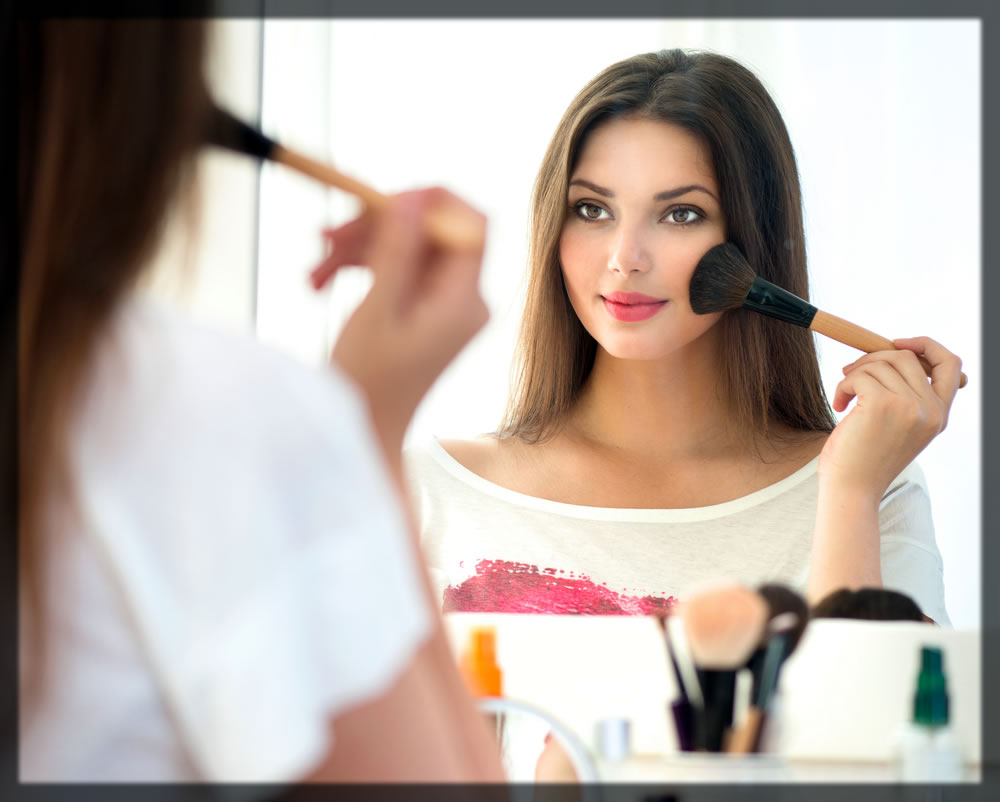 how to apply blush on easily