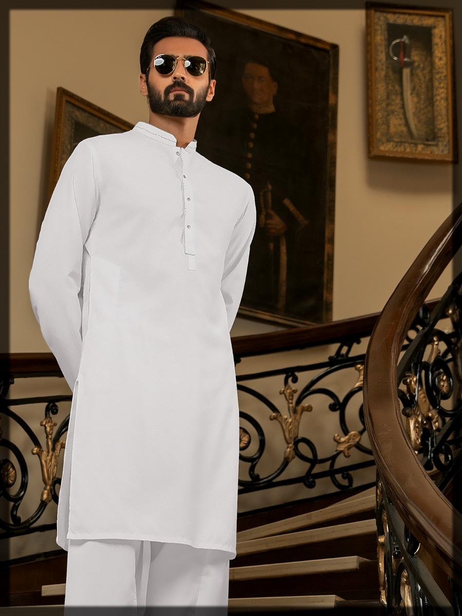 impressive edenrobe shalwar kameez for men