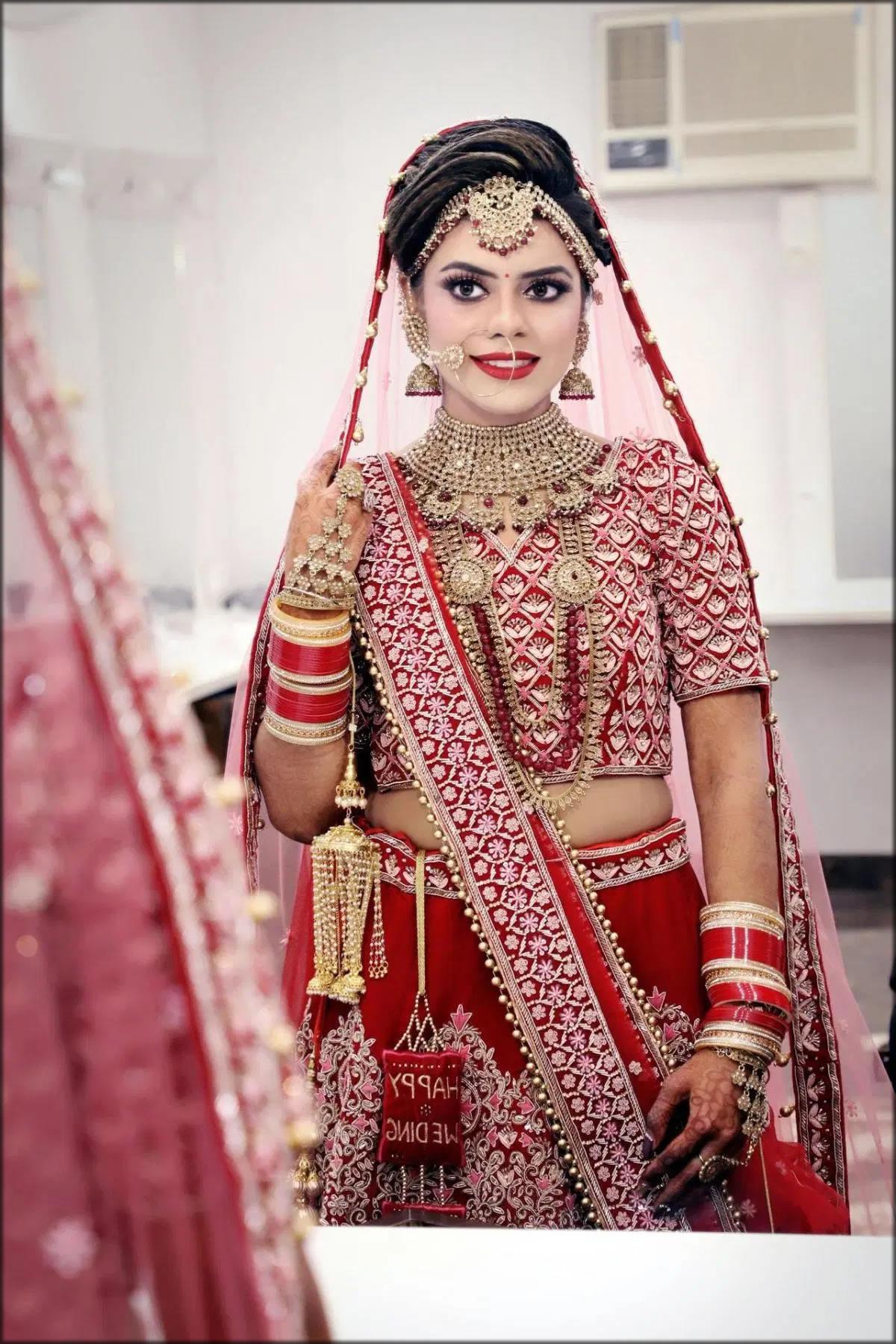 indian bridal saree designs