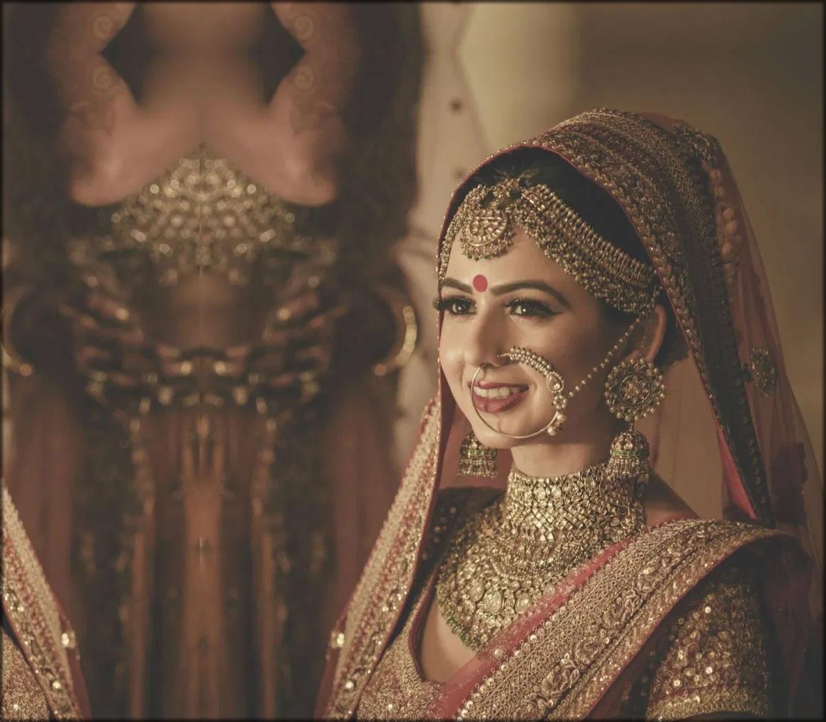 indian saree for brides