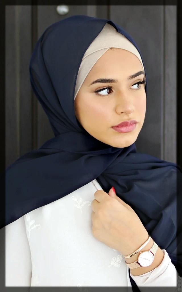 inner cap hijab style