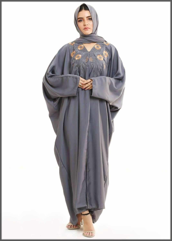 kaftan style fancy abaya design