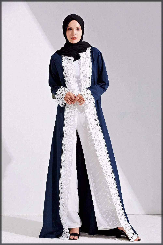lace fancy abaya design