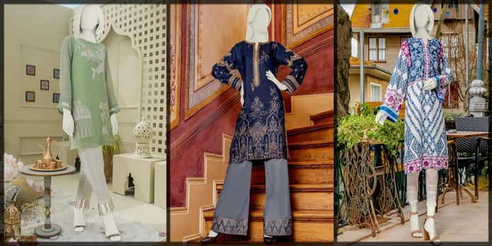 latest junaid jamshed kurti collection for summer