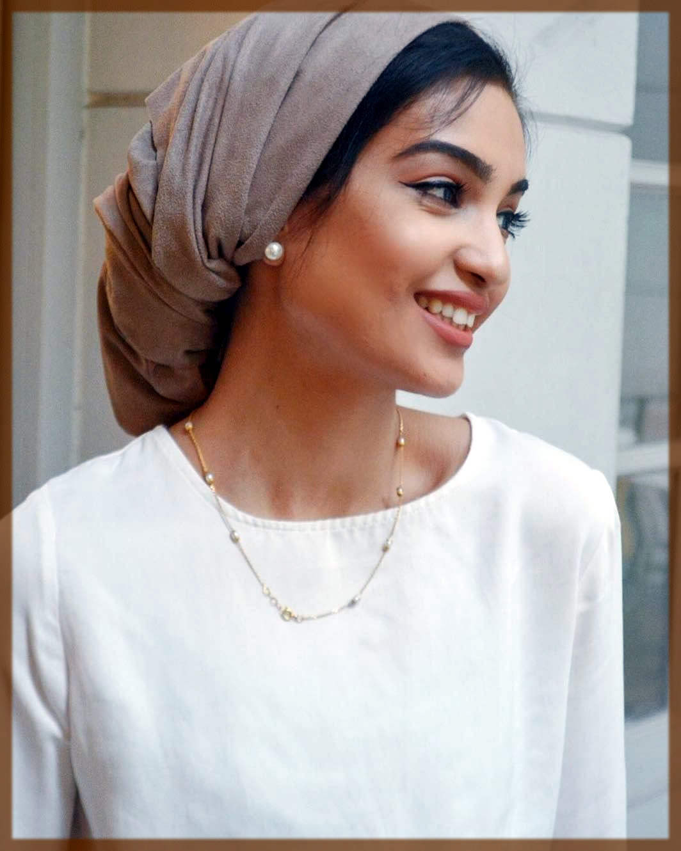 latest turban hijjab styles for university girls