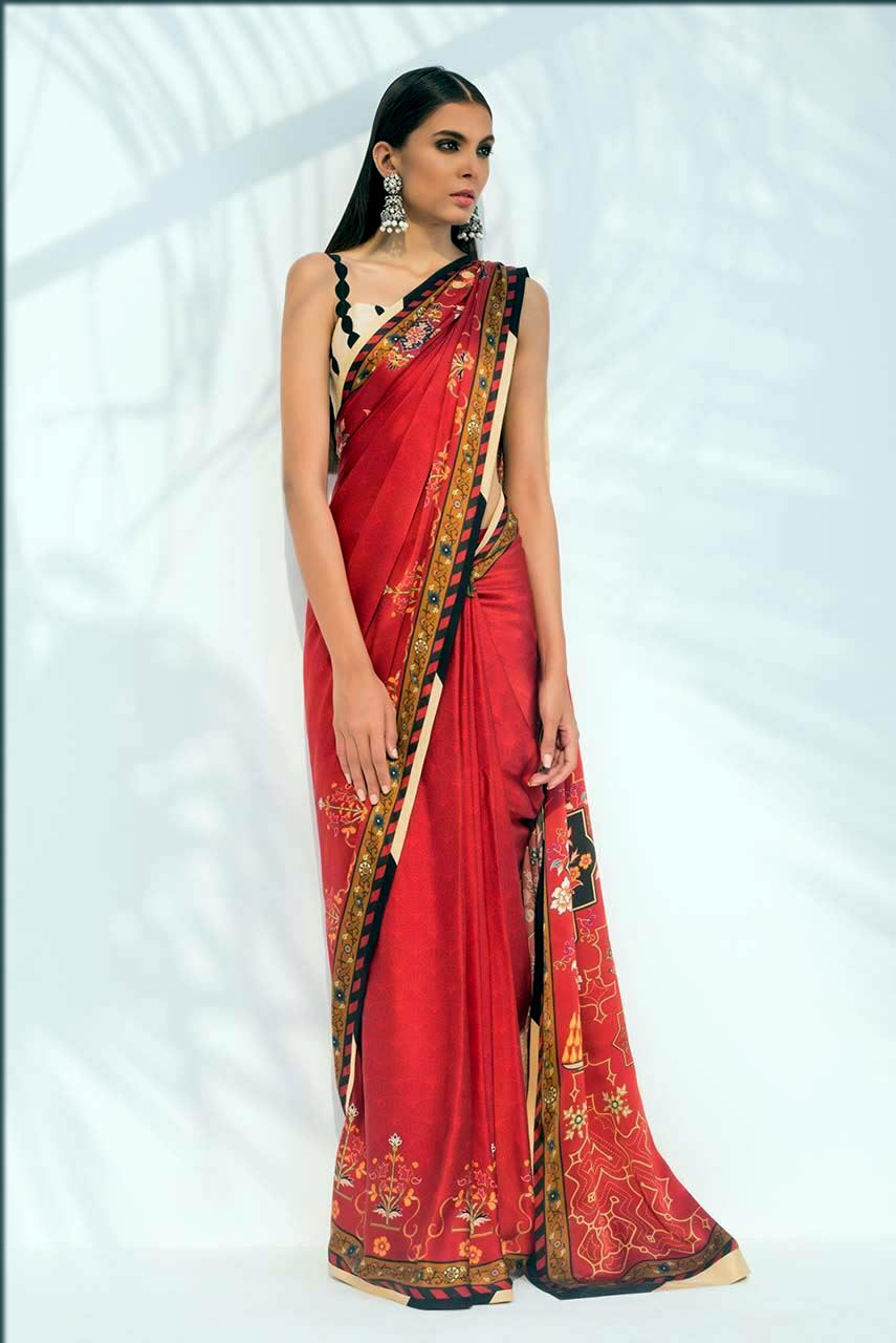 lavish saree by sania Maskatiya