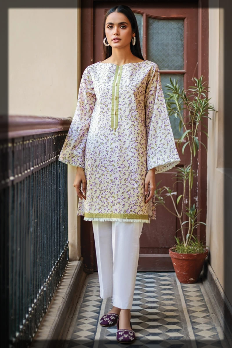 light unstitched lawn shirt by Orient Textiles Summer Collection