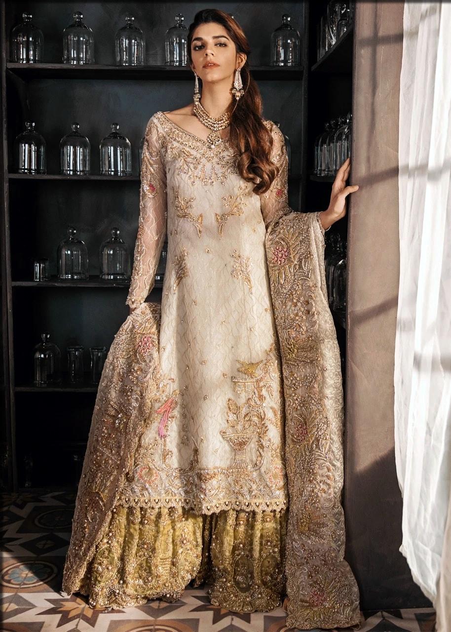 long shirt for mehndi by sadaf fawad khan