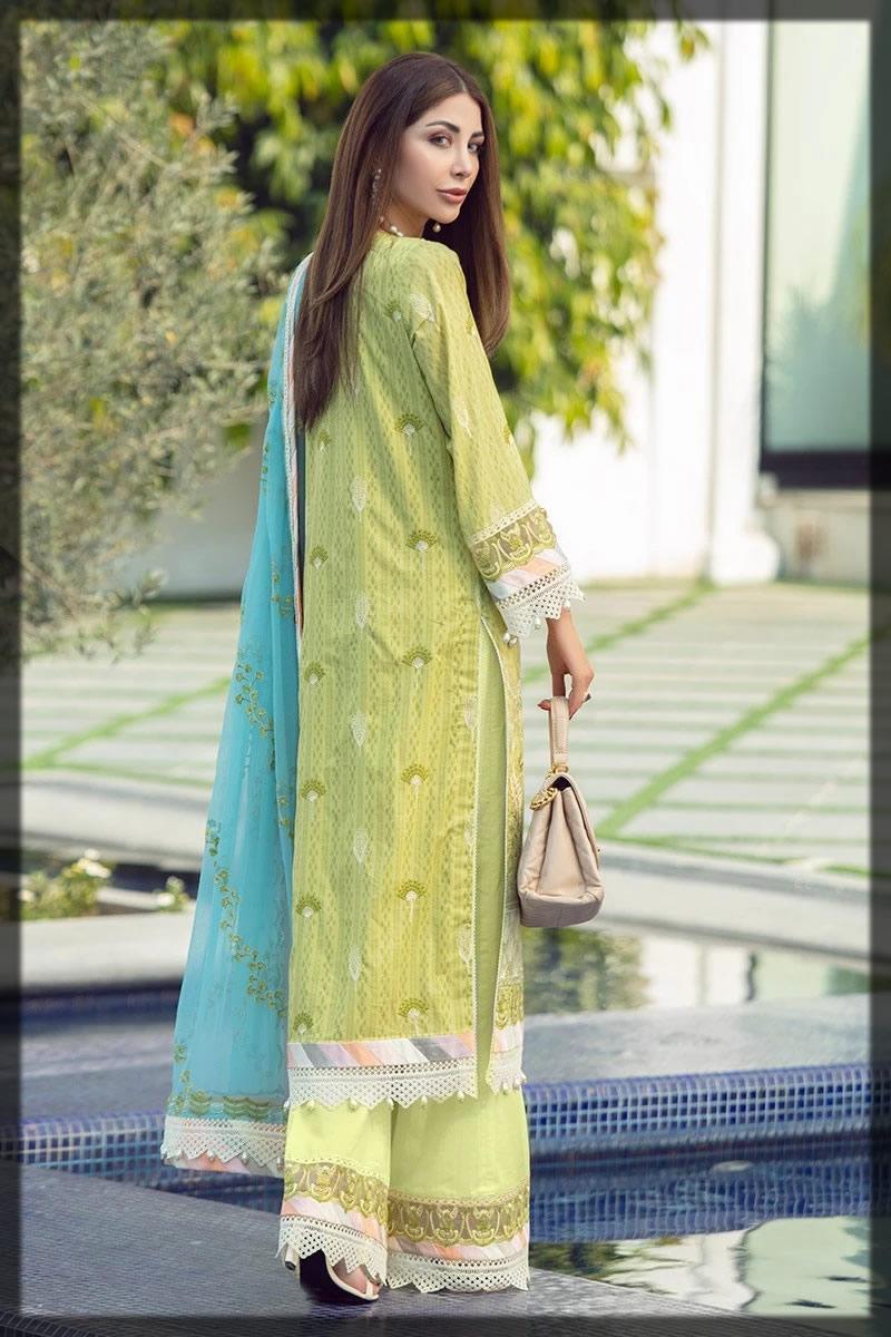 lovely summer lawn dress