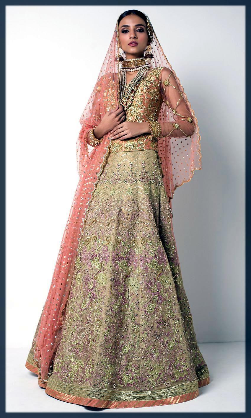 luxurious nomi ansari bridal dresses