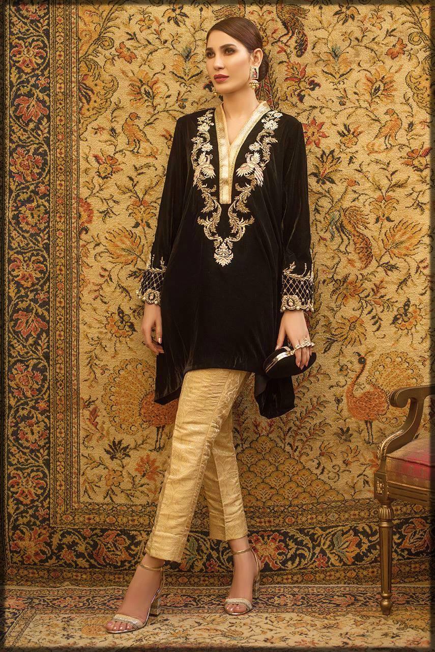 luxury black attire