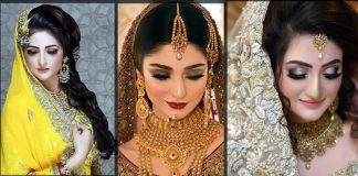Best Pakistani Bridal Makeup Tutorial for Mehndi, Barat and Walima Look