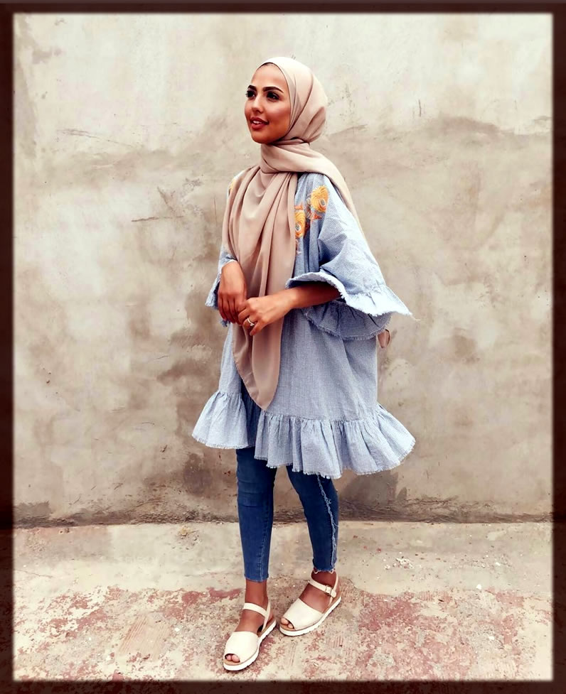 magnnificantCasual Hijab Styles With Jeans