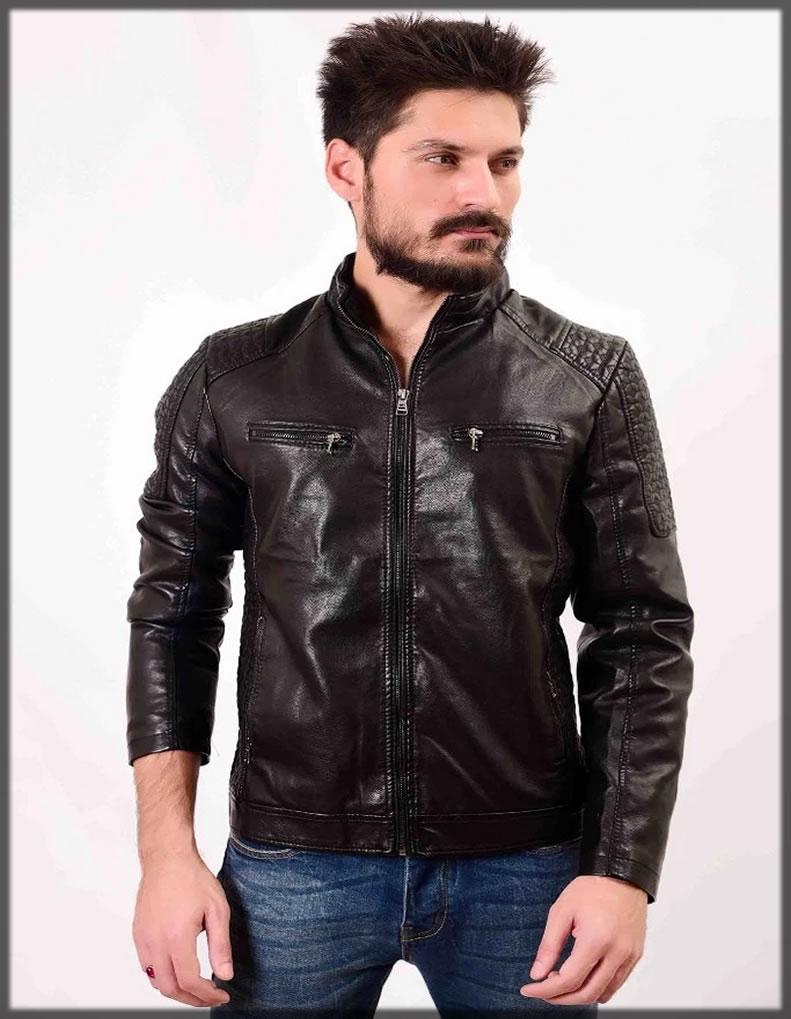 men jacket leather