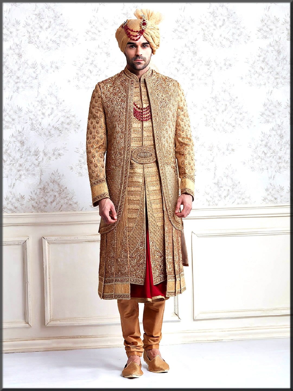 men new wedding dress for barat