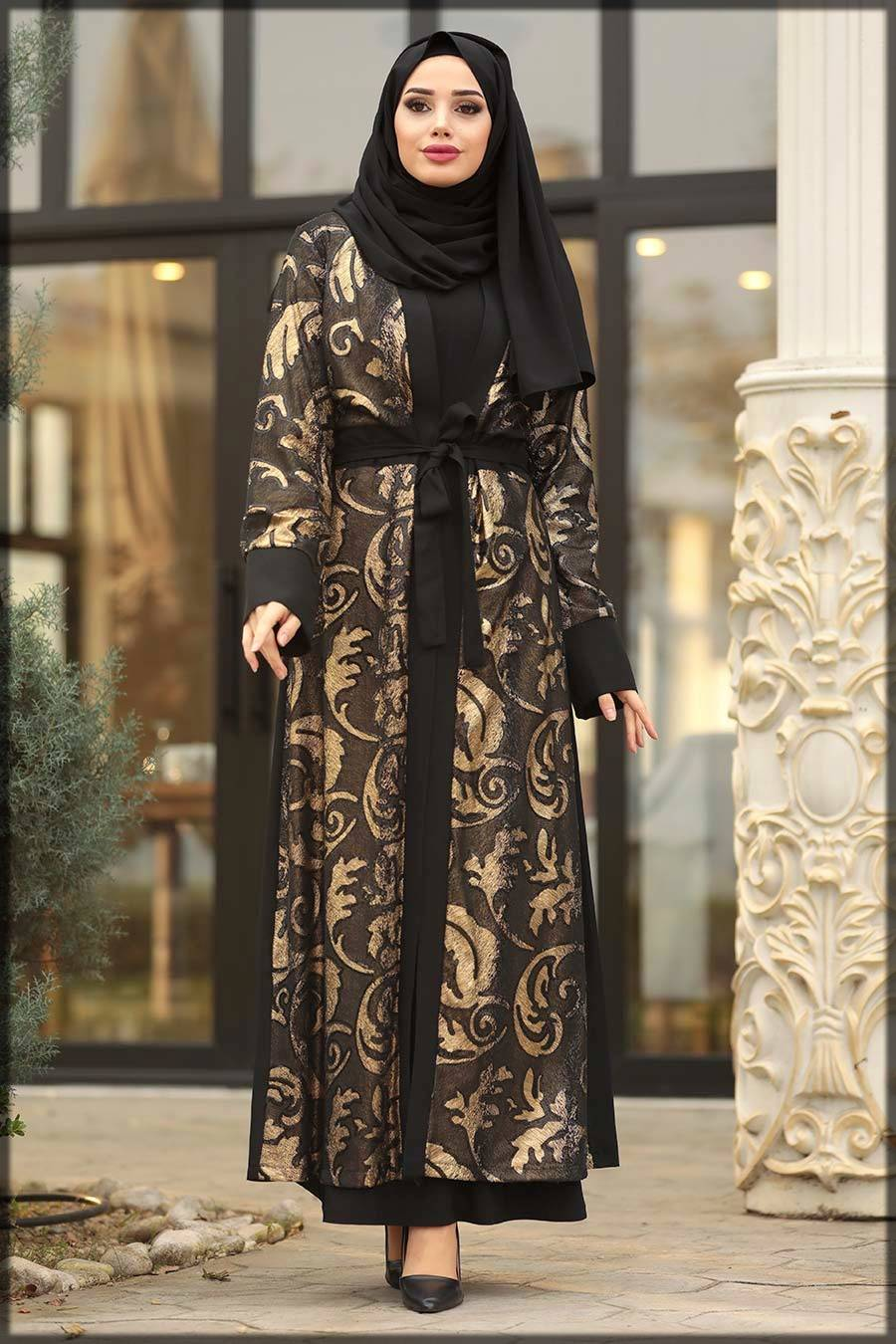 naylon turkish abaya