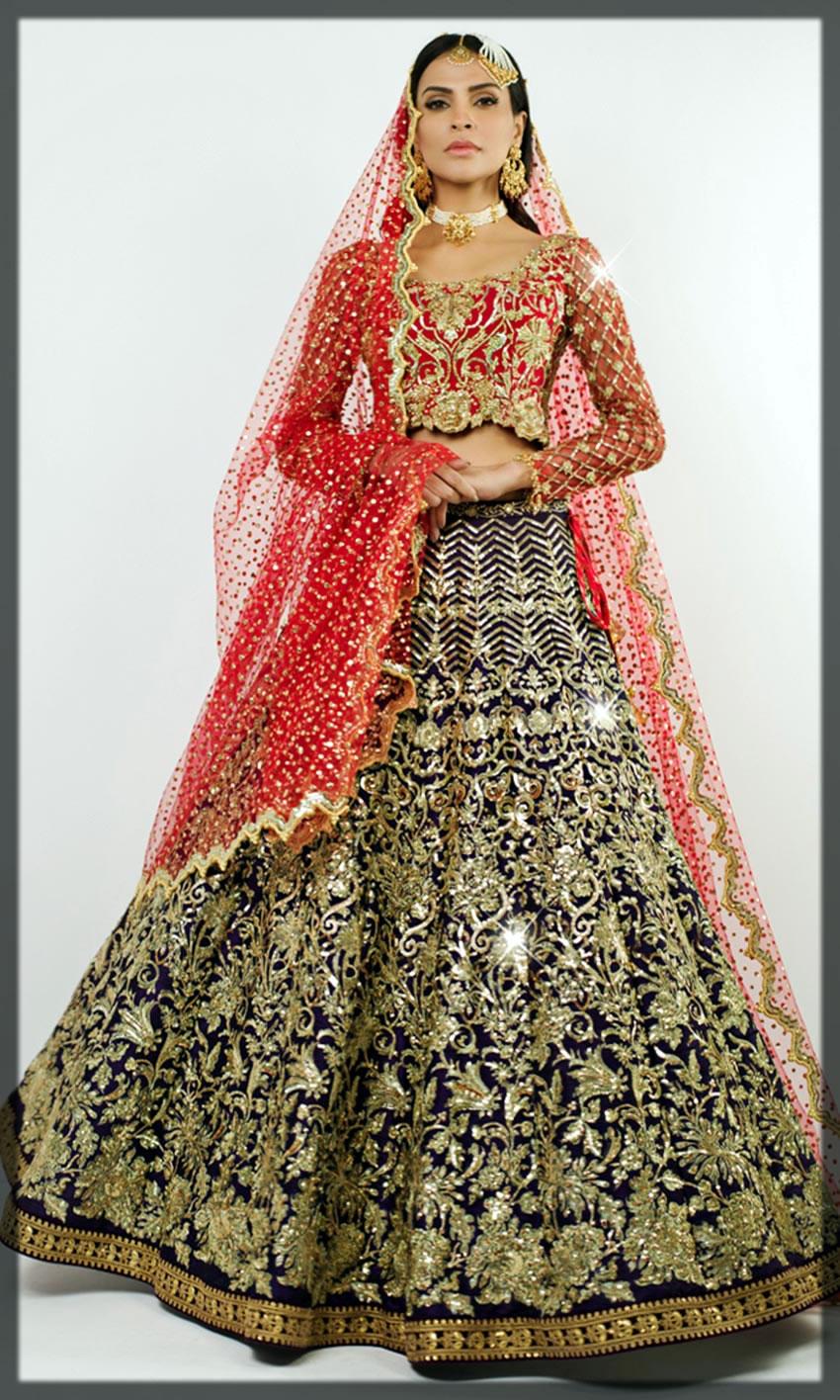 nomi ansari bridal dresses collection