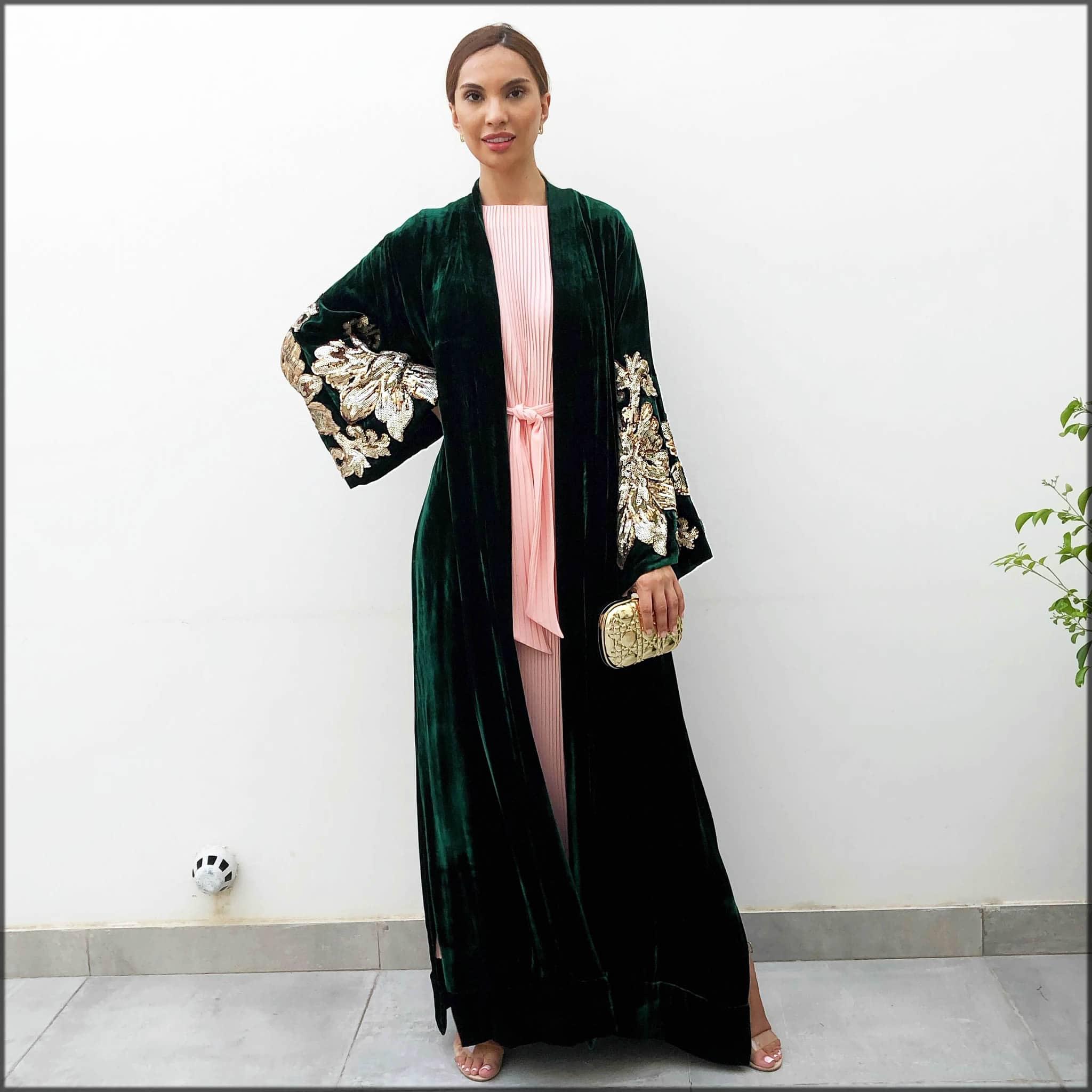 open style abaya