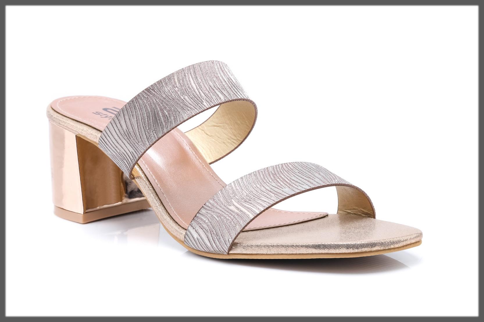 peach fancy footwear
