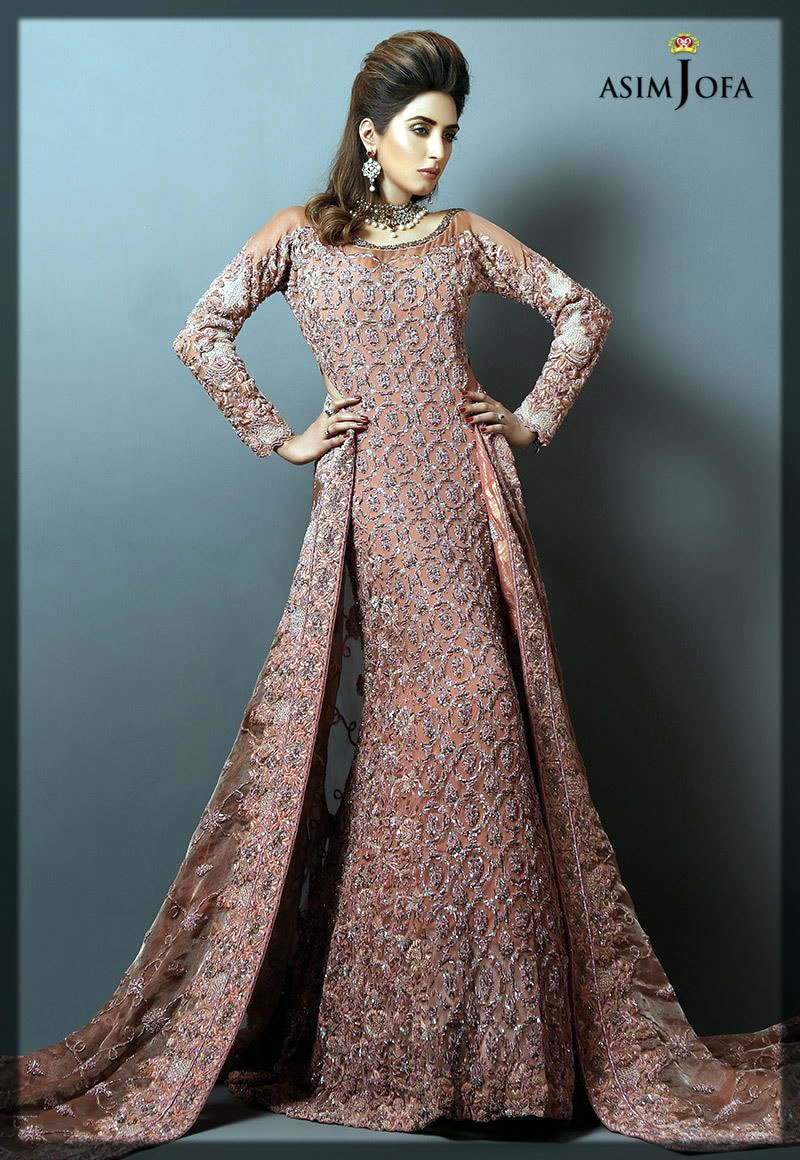 peech stunning bridal dress