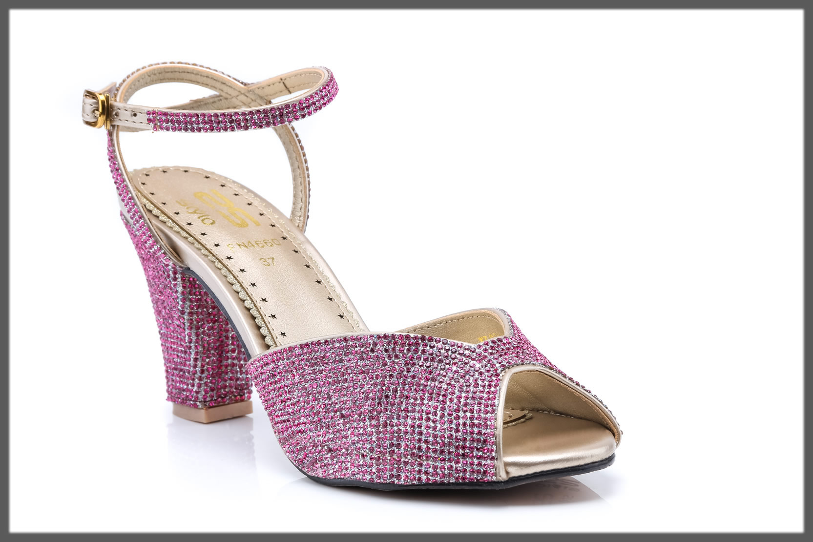 pink fancy sandals for girls