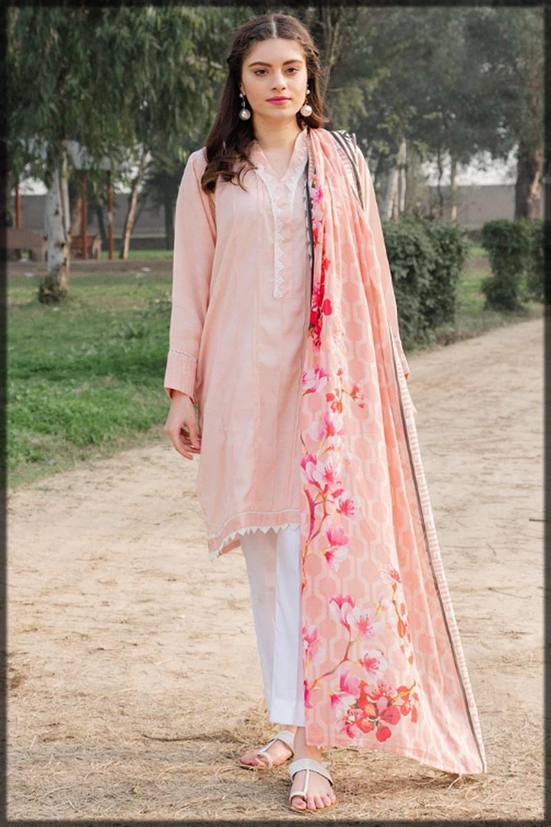 pink raw silk dress