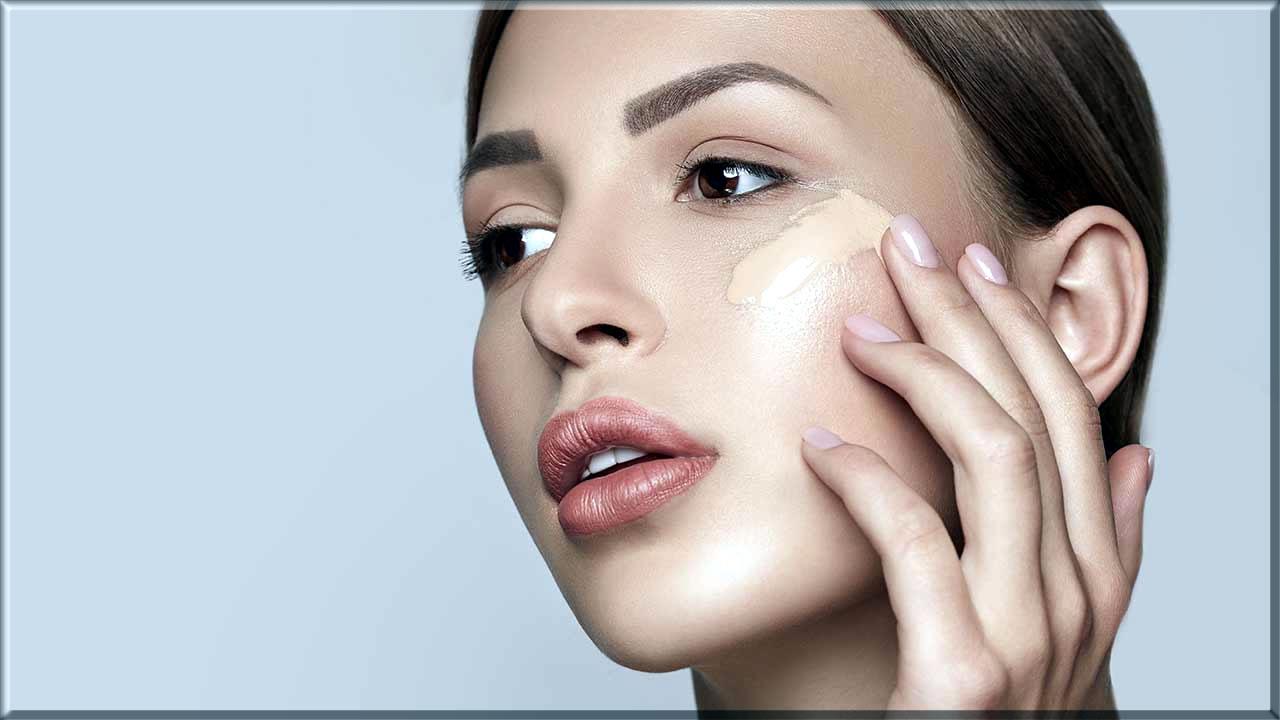prep your skin for apply blush