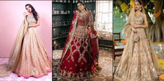 Sadaf Fawad Khan Bridal Dresses 2021 for Mehndi, Barat and Walima