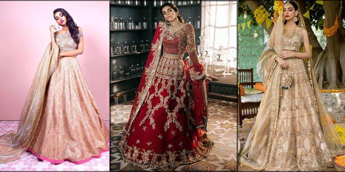 sadaf fawad khan bridal dresses