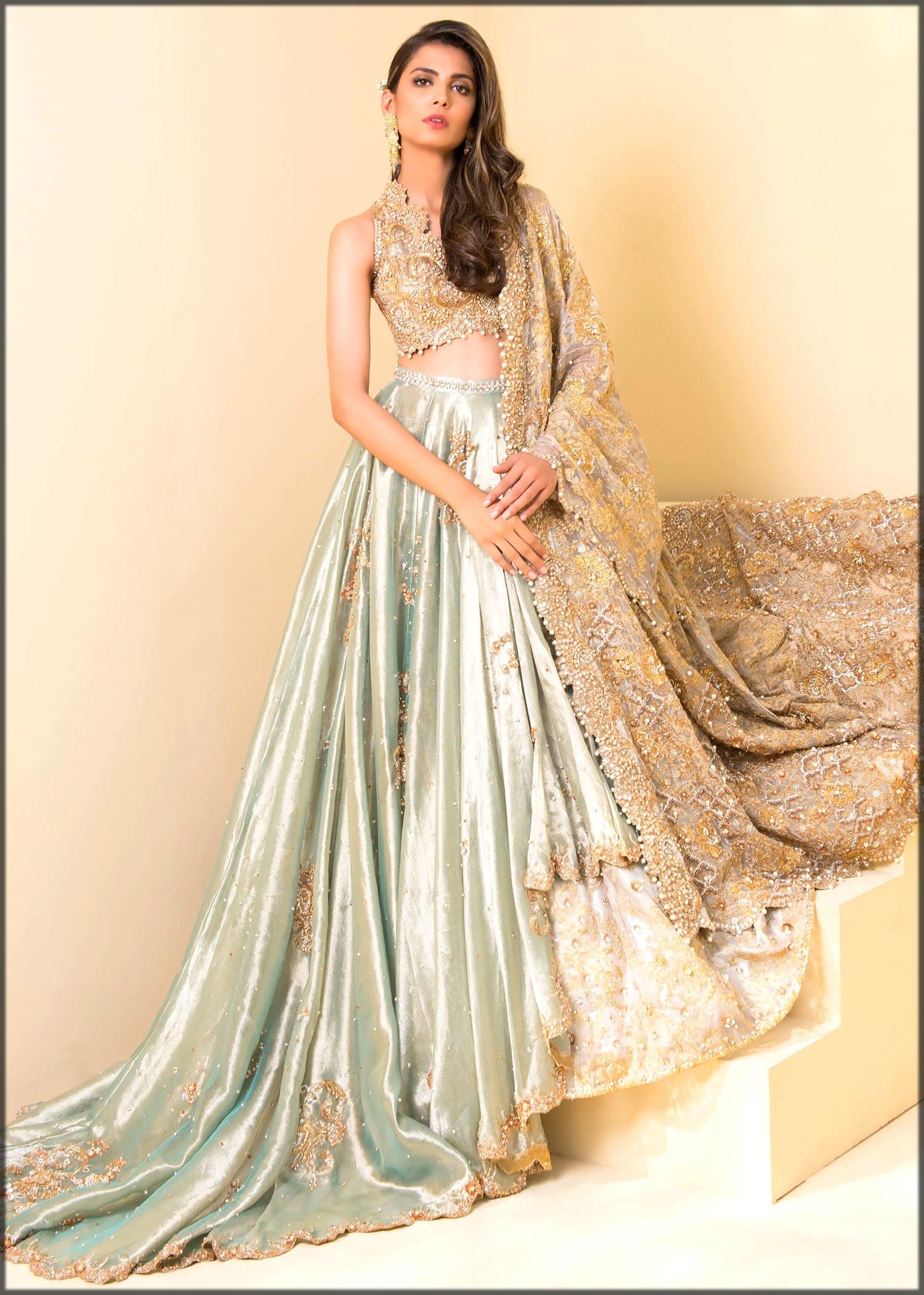 sea shade bridal wear for walima