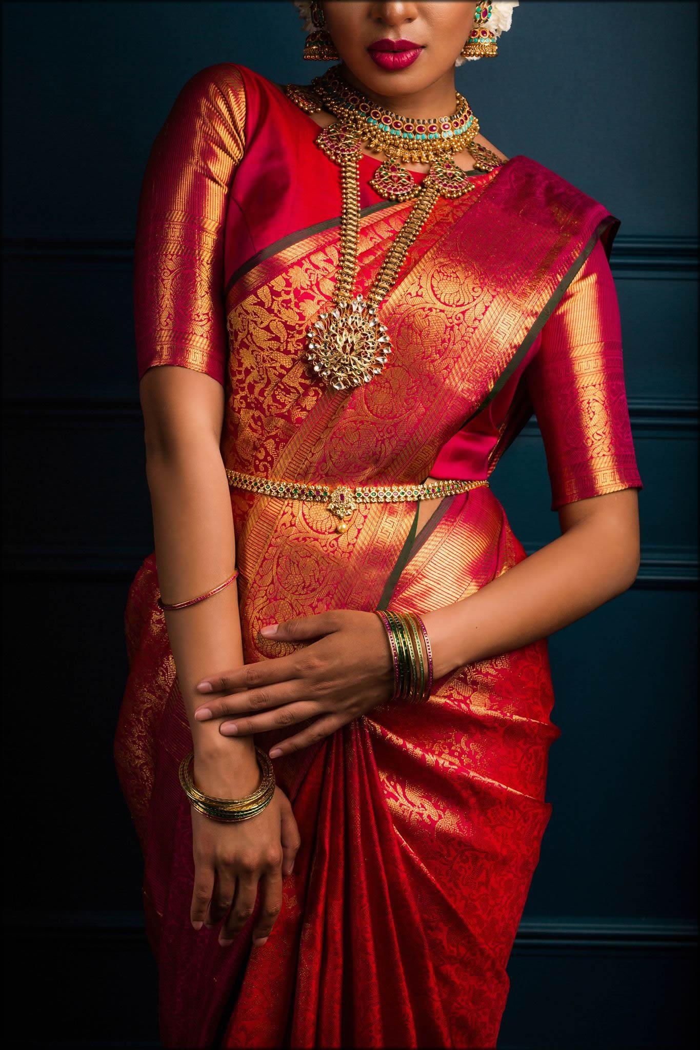 souht indian bridal sari