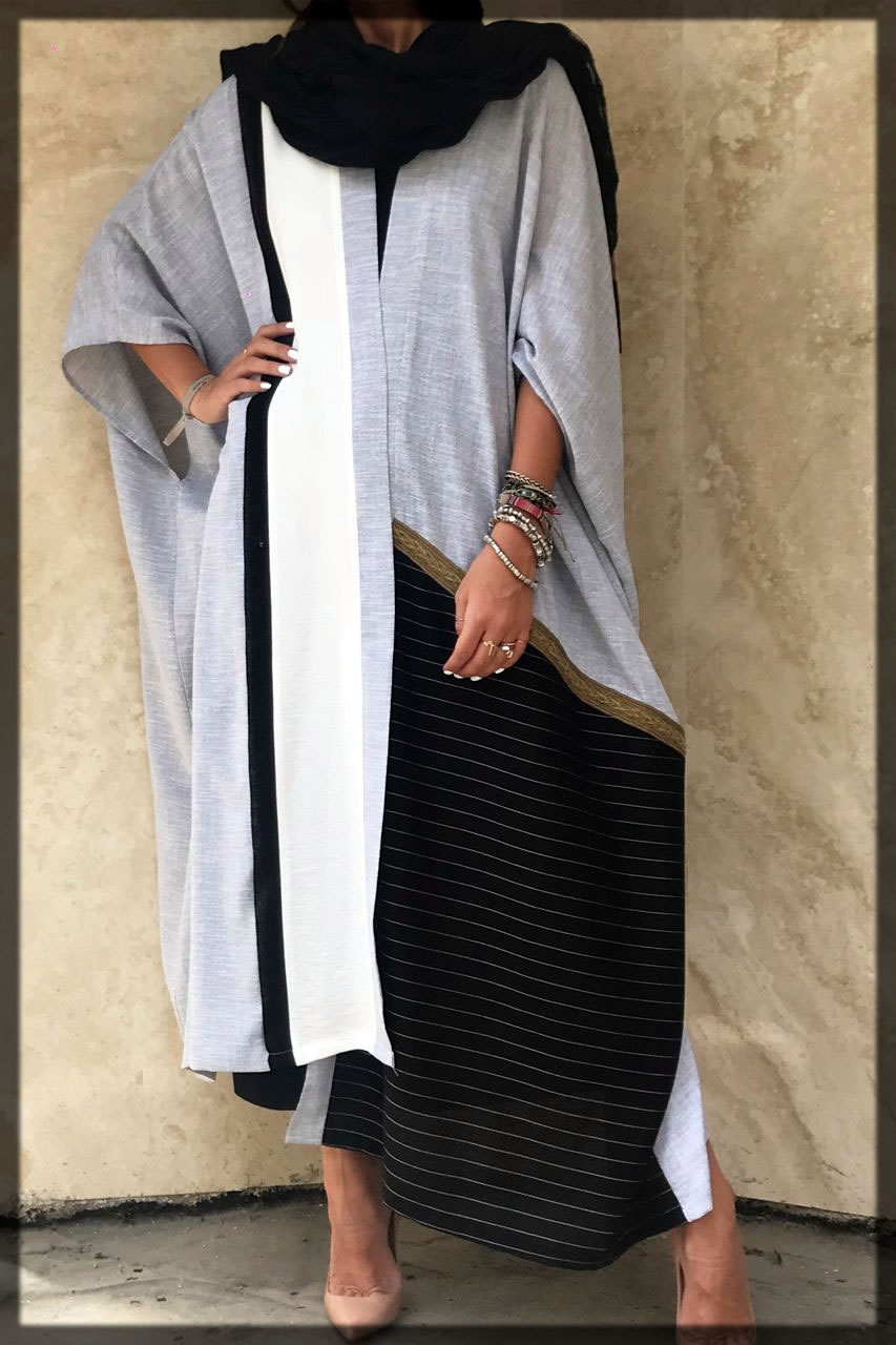 simple and classy Dubai Style Abaya