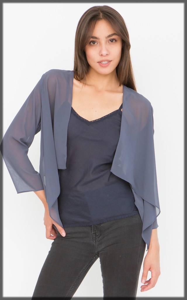 smart outfit with unique jacket design