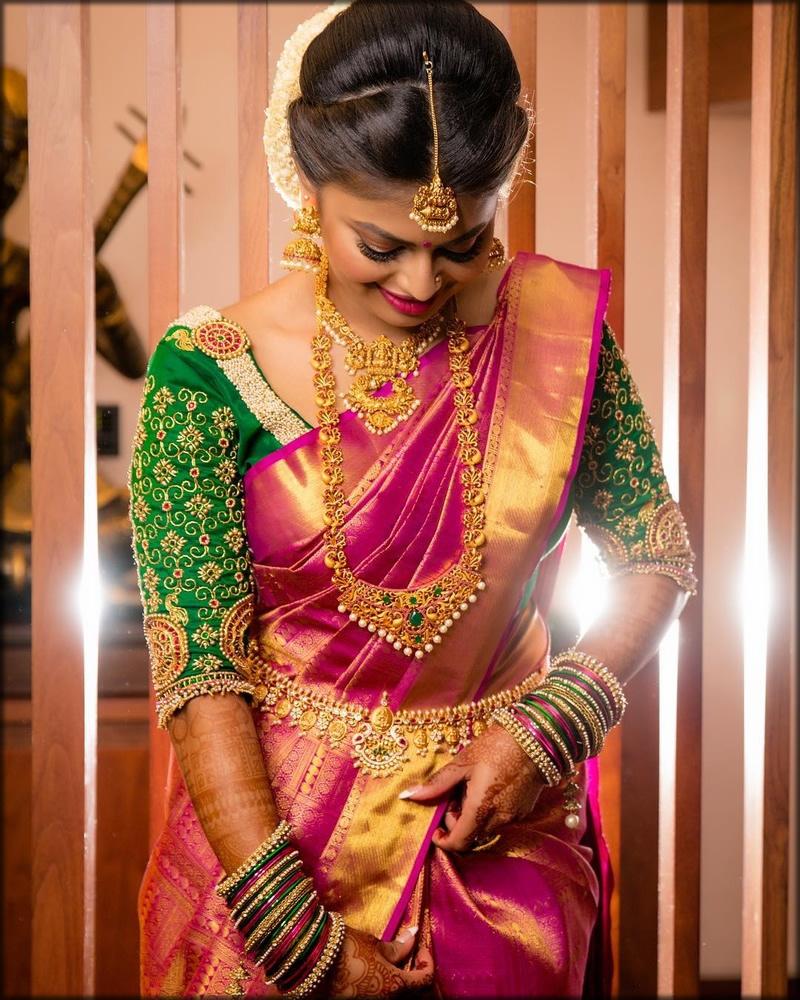 south indian saree designs