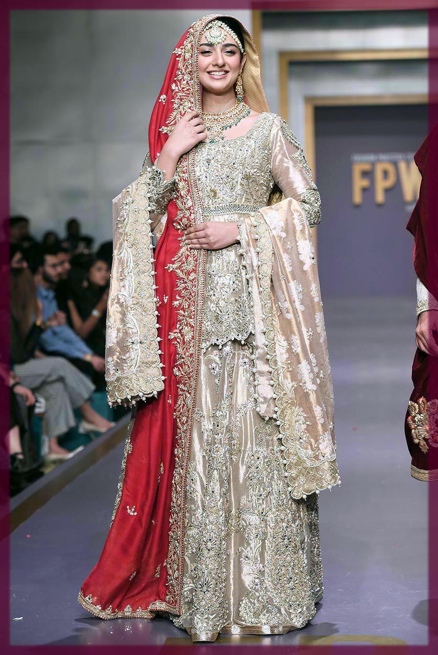striking Deepak Perwani Bridal Collection