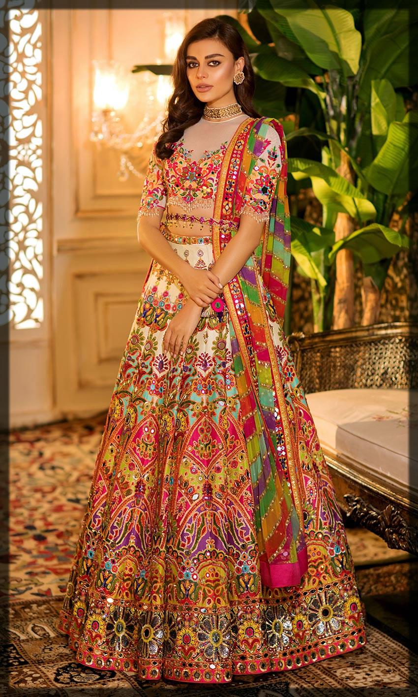 striking nomi ansari bridal dresses